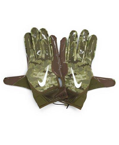 Vapor Jet 5 Salute To Service NFL Herren American Football Handschuhe Trooper/Brown