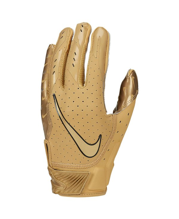 Vapor Jet 5 Men's Football Gloves Gold