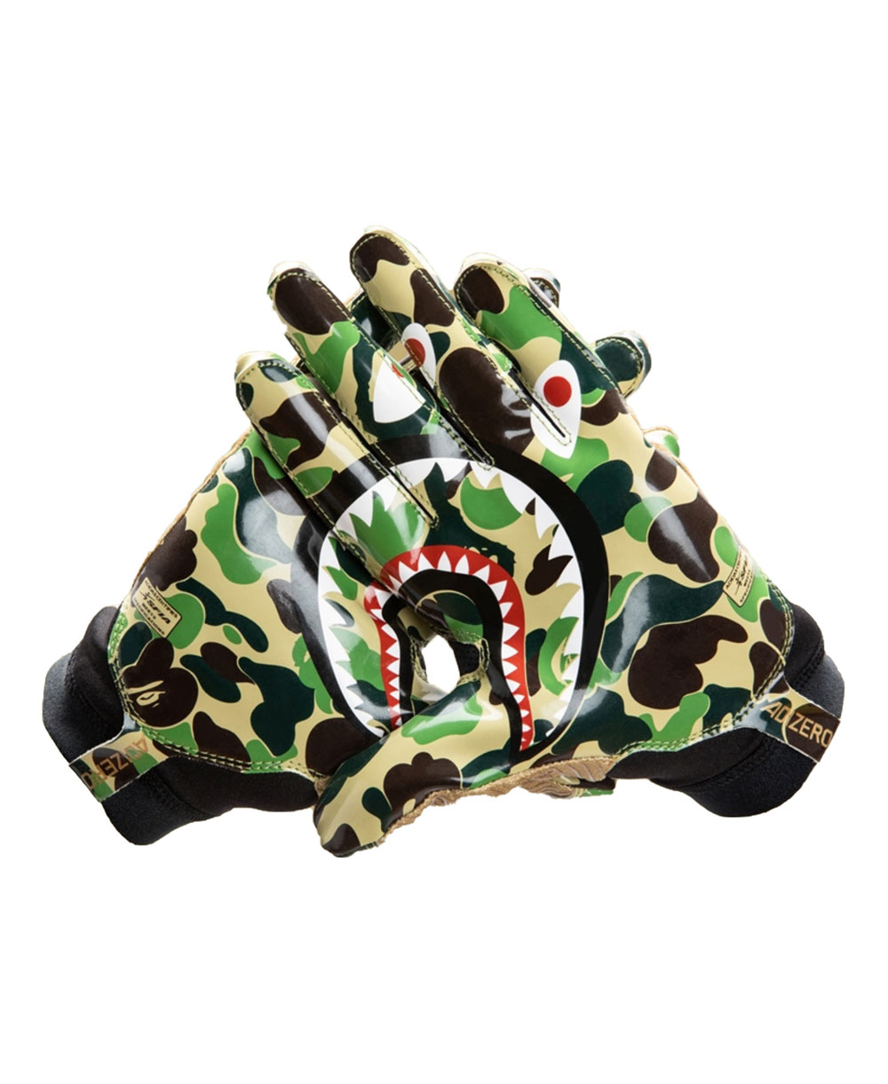 Bape x Adidas Adizero 8.0 Men's Football Gloves