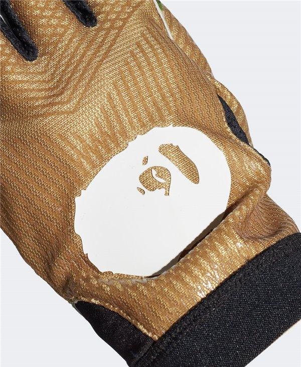 Bape x Adidas Adizero 8.0 Guantes Fútbol Americano para Hombre