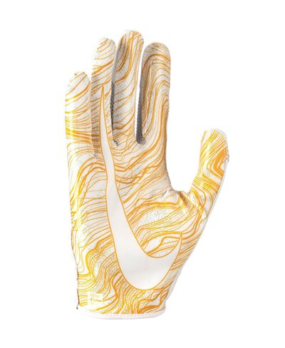Vapor Jet 5 Herren American Football Handschuhe White/White/Gold