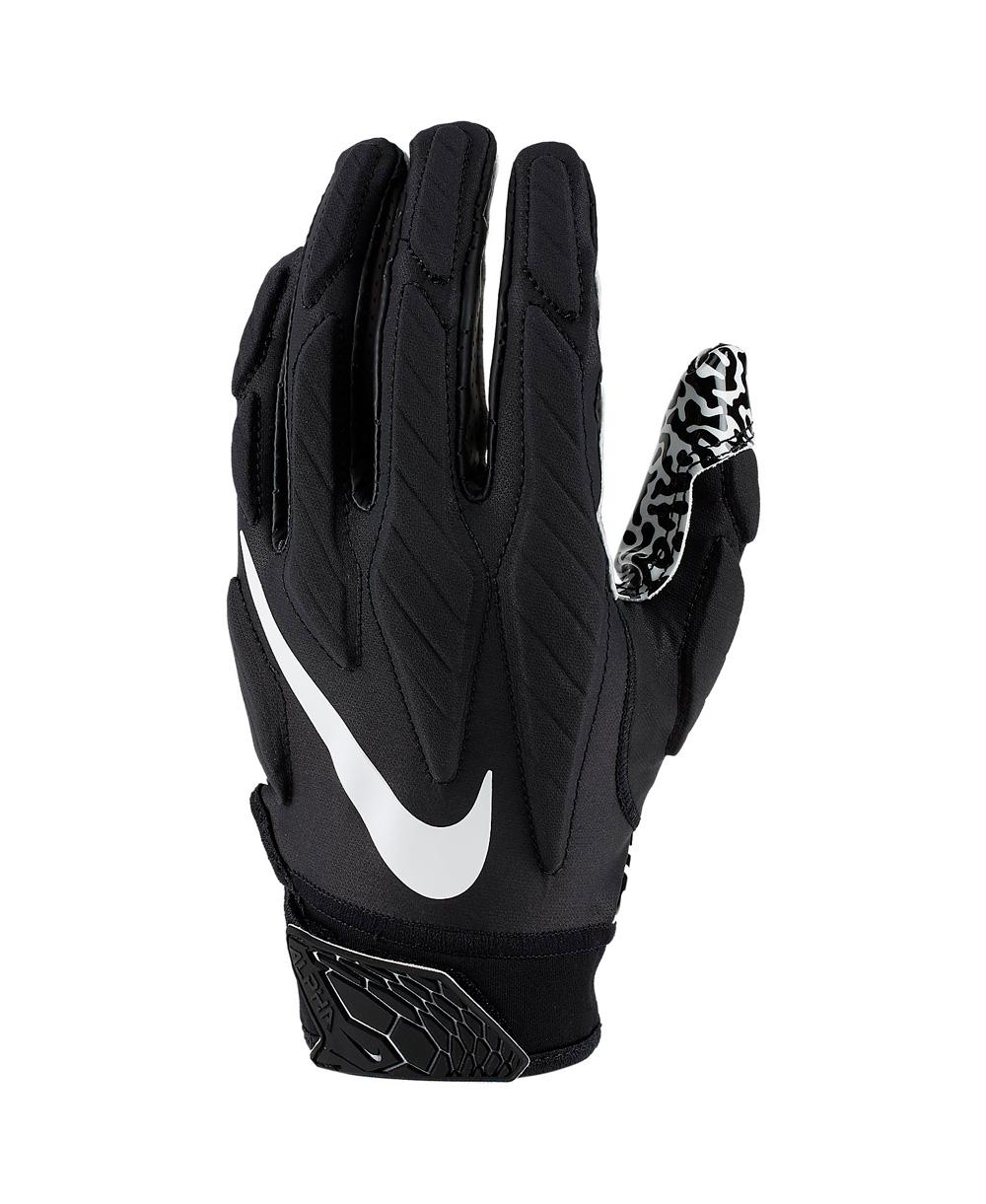 Superbad 5.0 Herren American Football Handschuhe Black