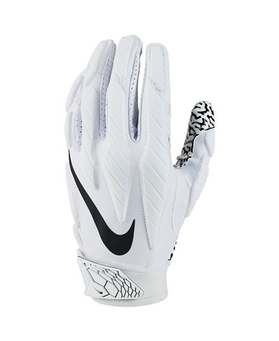 Superbad 5.0 Guanti Football Americano Uomo White
