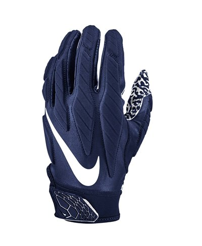 Superbad 5.0 Guanti Football Americano Uomo Navy