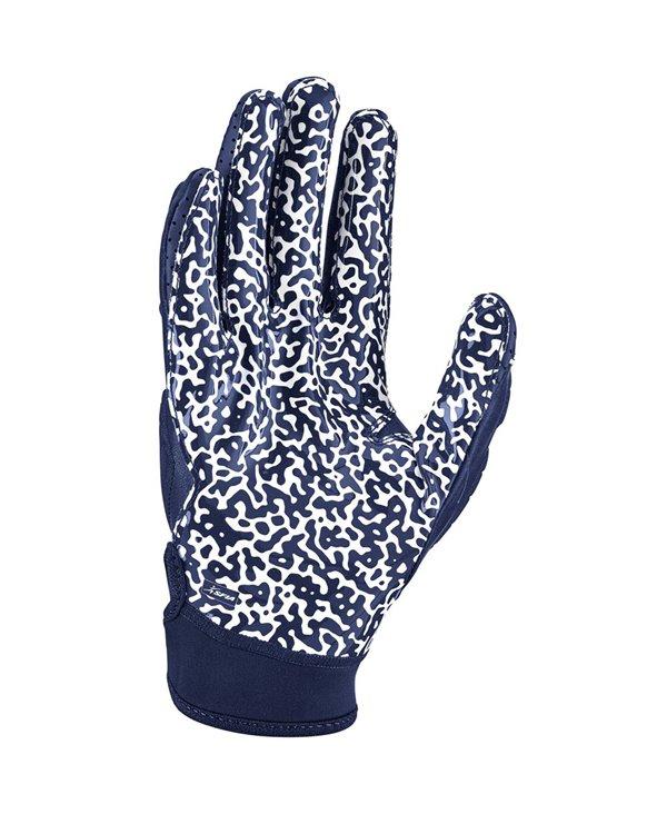 Superbad 5.0 Men's Football Gloves Navy