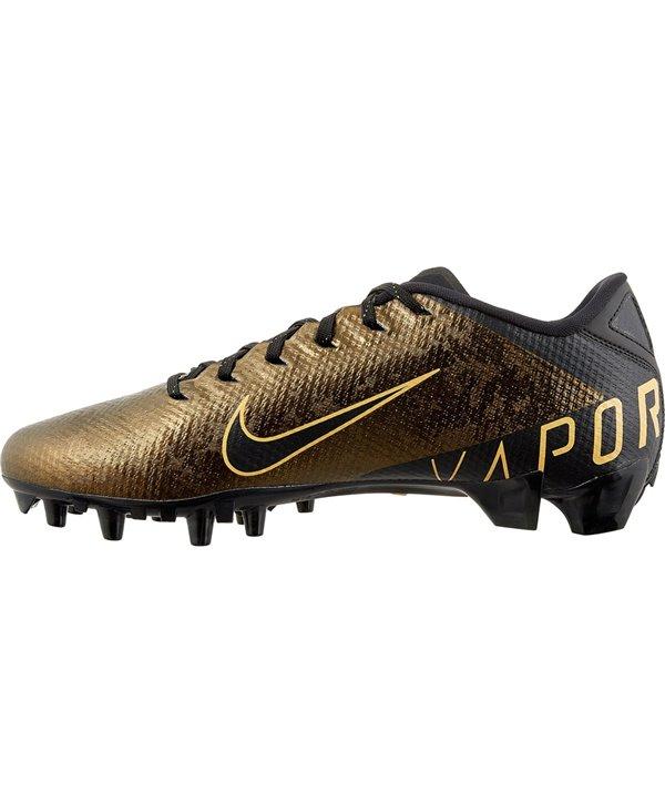 Vapor Untouchable 3 Speed Crampons de Football Américain Homme Black/Gold