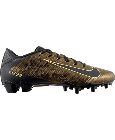 Men's Vapor Untouchable 3 Speed American Football Cleats Black/Gold