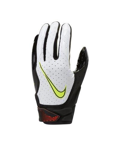 Vapor Jet 6 Herren American Football Handschuhe White/Black/Hyper Crimson