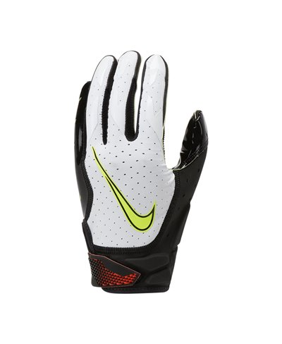 Vapor Jet 6 Men's Football Gloves White/Black/Hyper Crimson