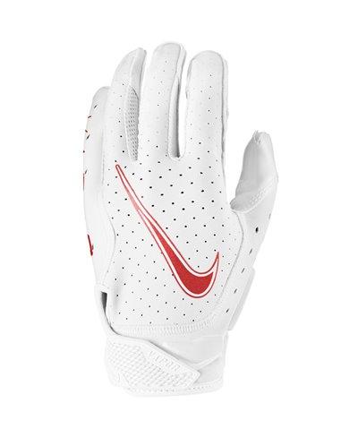 Vapor Jet 6 Men's Football Gloves White/Red