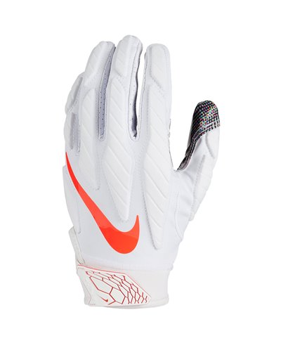 Superbad 5.0 Men's Football Gloves White/Pink