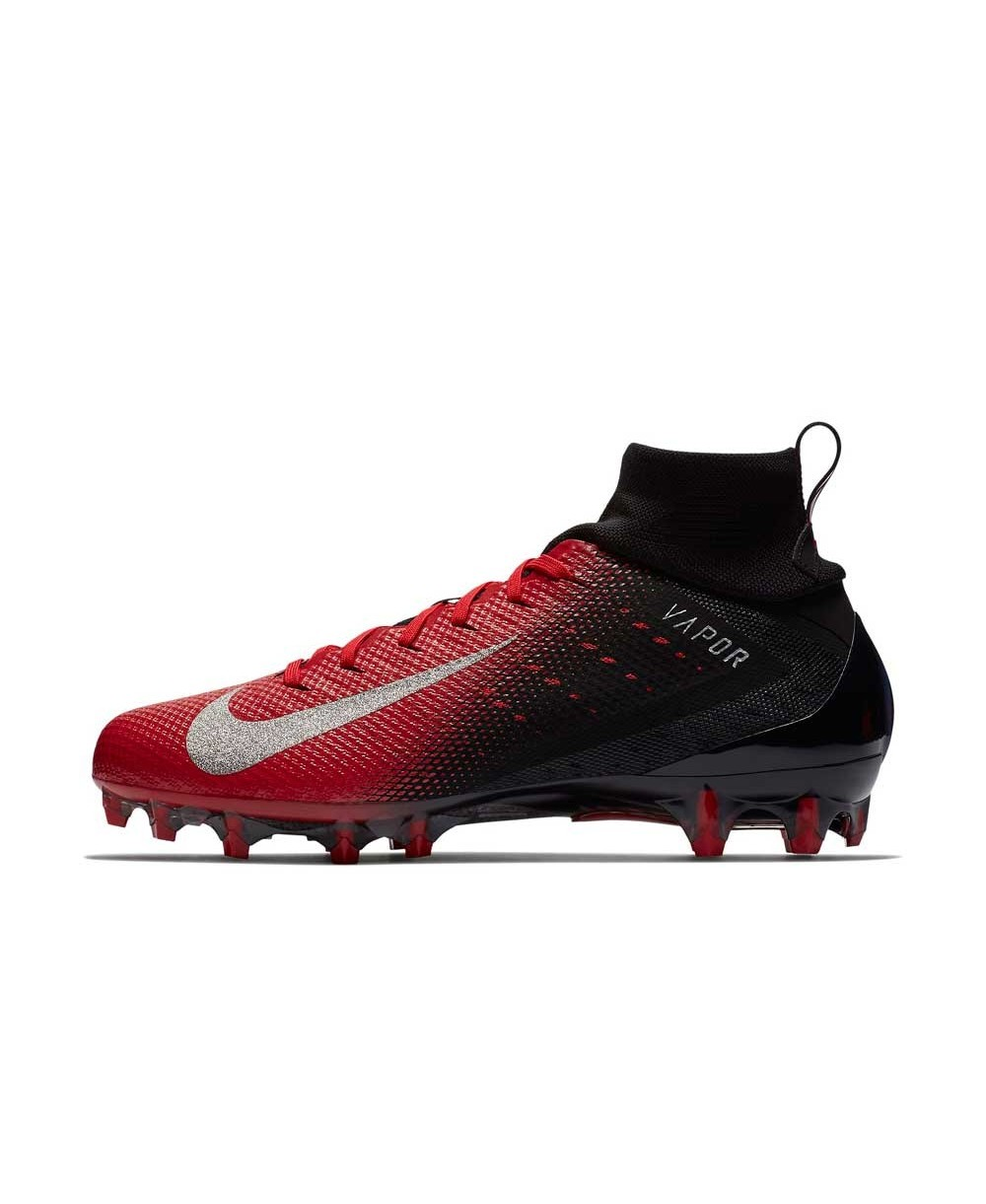a21ed237484c9 Nike - American Football Cleats for men, model Vapor Untouchable 3 Pro,  colour Black/University Red/Total Crimson/Metallic Silver