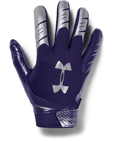 UA F7 Guanti Football Americano Uomo Purple