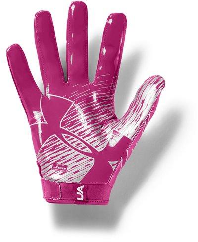 UA F7 Men's Football Gloves Tropic Pink