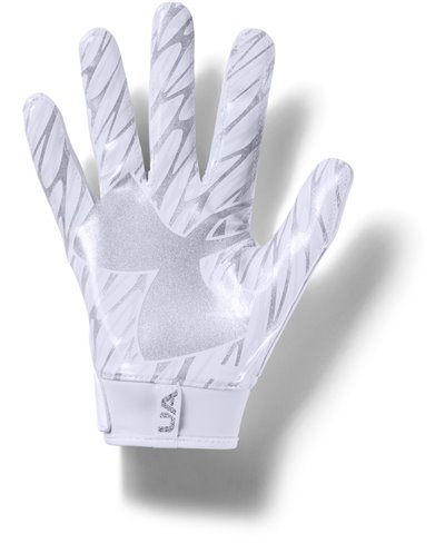 UA Spotlight Men's Football Gloves White