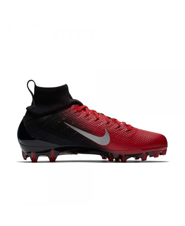 huge selection of e640b ab4de Nike - Crampons de Football Américain pour homme, modele Vapor Untouchable  3 Pro, couleur Black University Red Total Crimson Metallic Silver