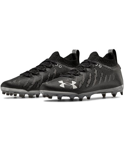 UA Spotlight Lux MC Crampons de Football Américain Homme Black