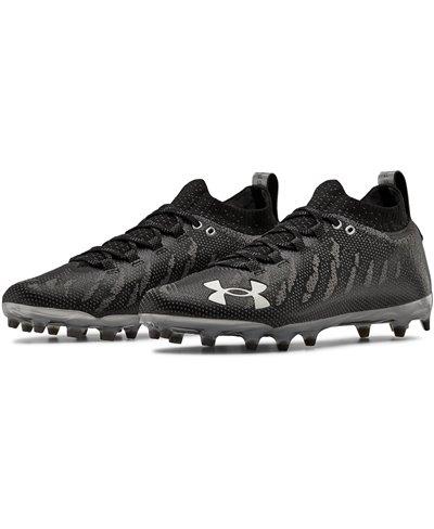 UA Spotlight Lux MC Zapatos de Fútbol Americano para Hombre Black