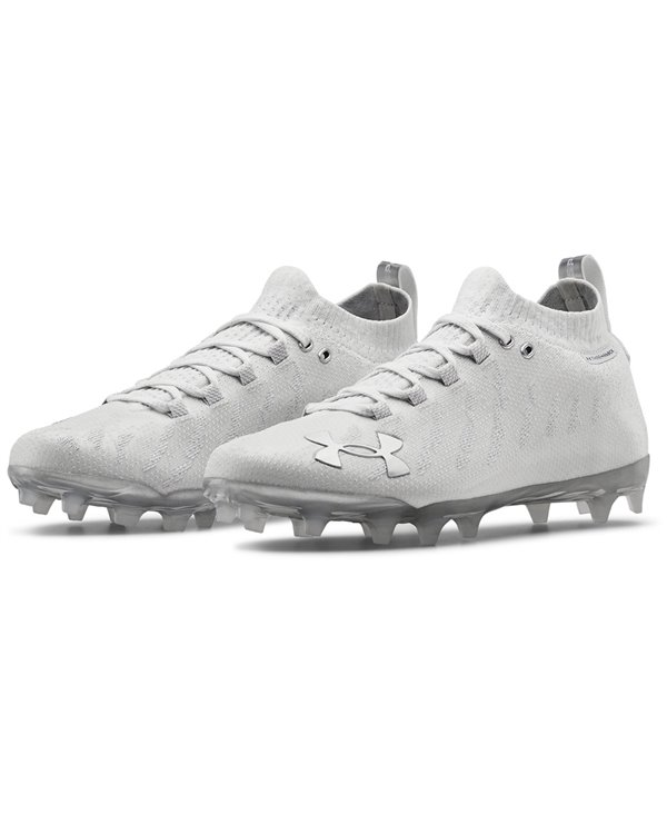Men's UA Spotlight Lux MC American Football Cleats White