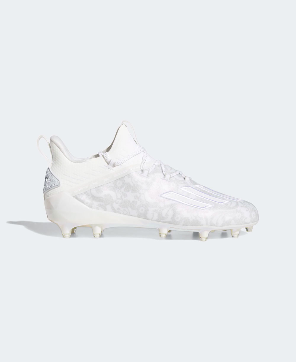 Men's Adizero New Reign American Football Cleats Cloud White