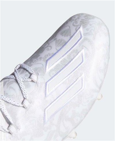 Adizero New Reign Crampons de Football Américain Homme Cloud White