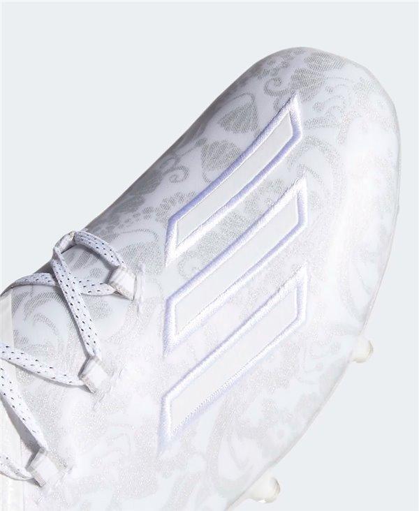 Adizero New Reign Scarpe da Football Americano Uomo Cloud White