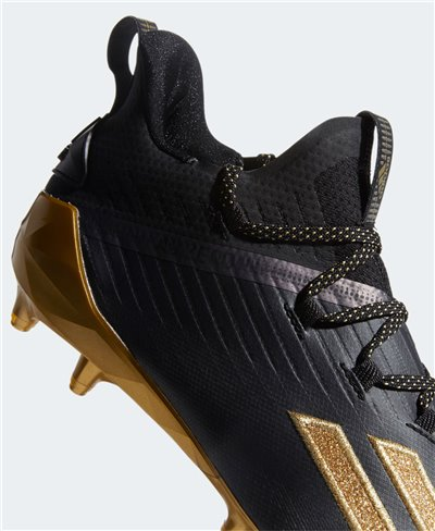 Men's Adizero x Anniversary American Football Cleats Core Black