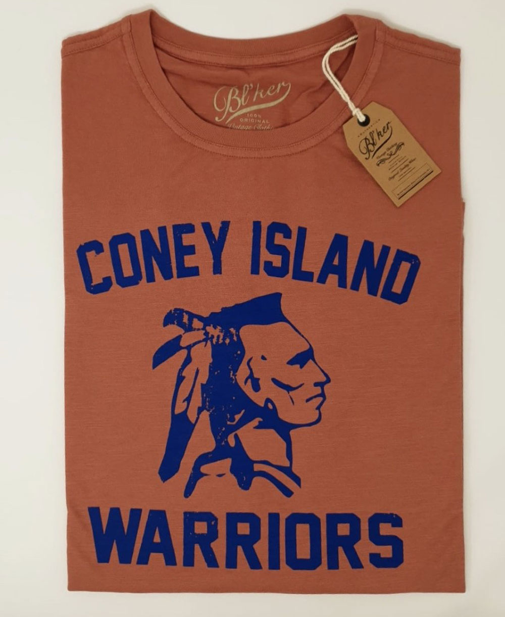 Men's Short Sleeve T-Shirt Coney Island Red