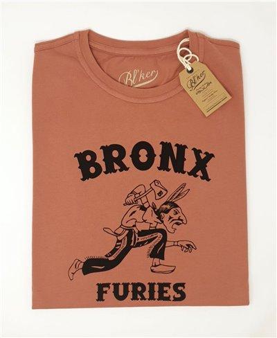 Bronx Furies Camiseta Manga Corta para Hombre Red
