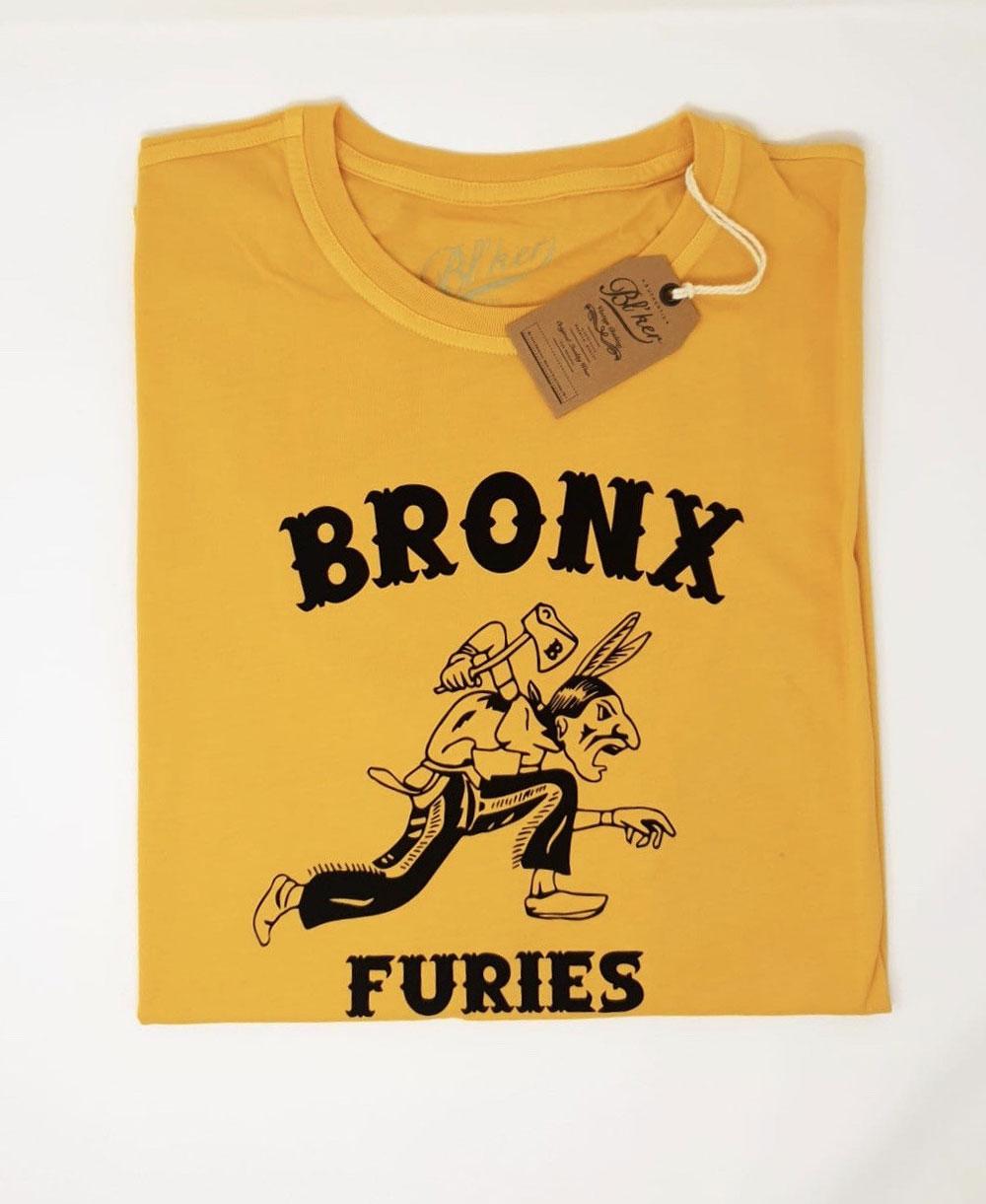 Bronx Furies Camiseta Manga Corta para Hombre Yellow