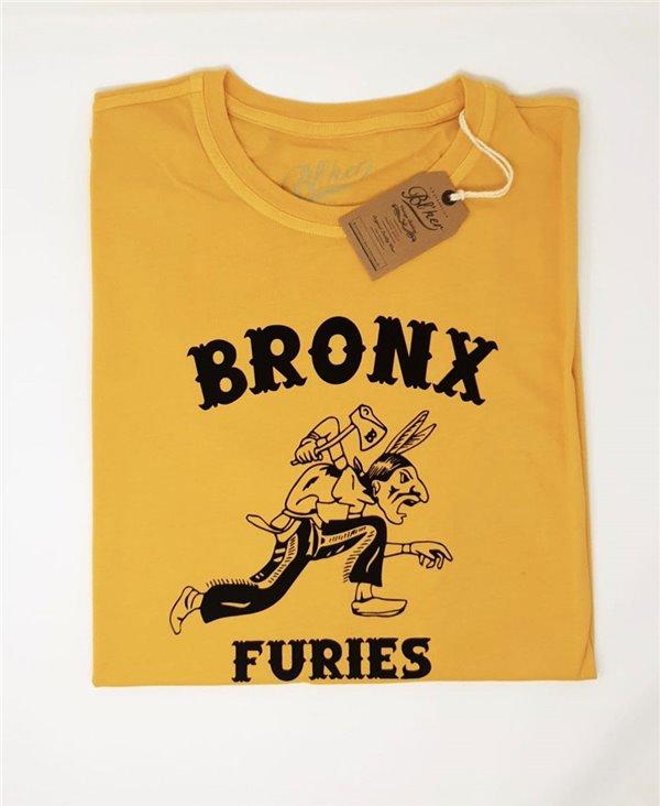 Bronx Furies T-Shirt Manica Corta Uomo Yellow