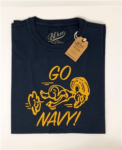 Herren Kurzarm T-Shirt Go Navy Navy