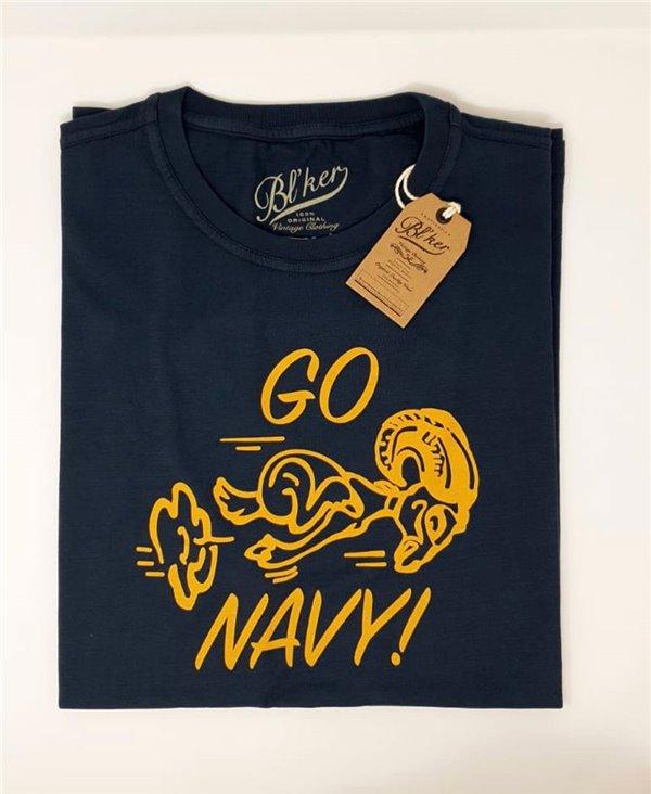 Men's Short Sleeve T-Shirt Go Navy Navy