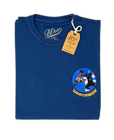 Get Ours Patch T-Shirt Manica Corta Uomo Indigo