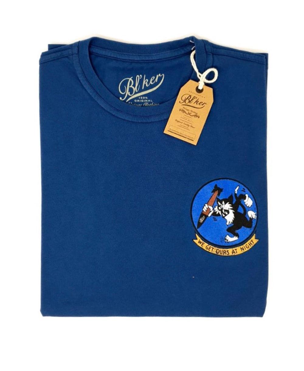 Men's Short Sleeve T-Shirt Get Ours Patch Indigo