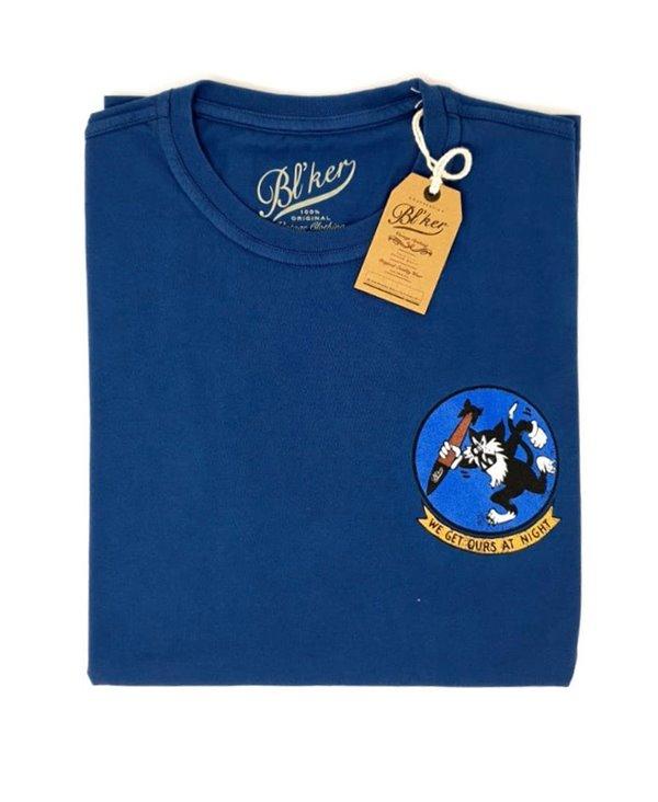 Get Ours Patch T-Shirt à Manches Courtes Homme Indigo