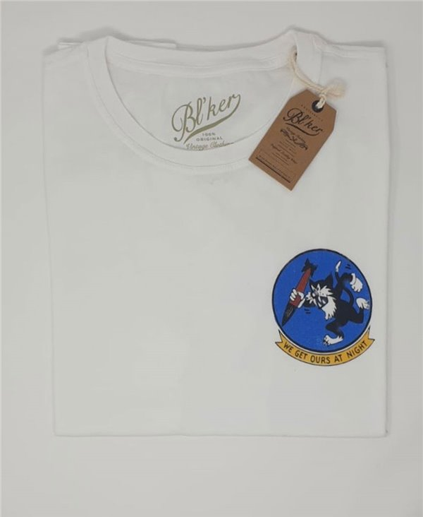 Herren Kurzarm T-Shirt Get Ours Patch White