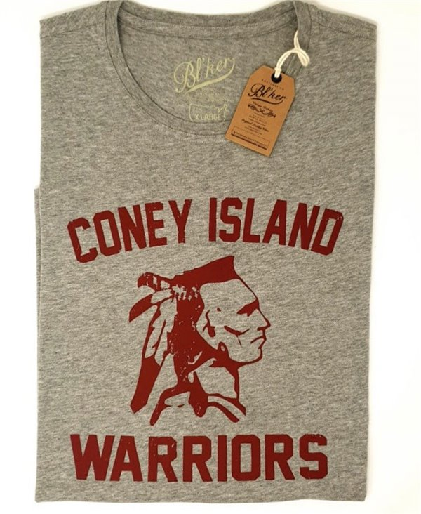 Coney Island T-Shirt à Manches Courtes Homme Heather Grey