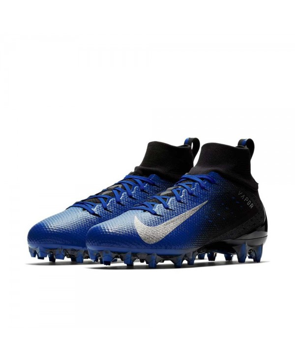 9e544c5452b5 Nike - American Football Cleats for men, model Vapor Untouchable 3 Pro,  colour Black/Game Royal/Photo Blue/Metallic Silver