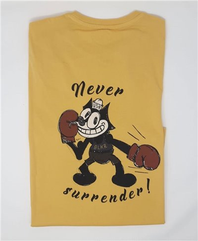 Men's Short Sleeve T-Shirt Felix Yellow