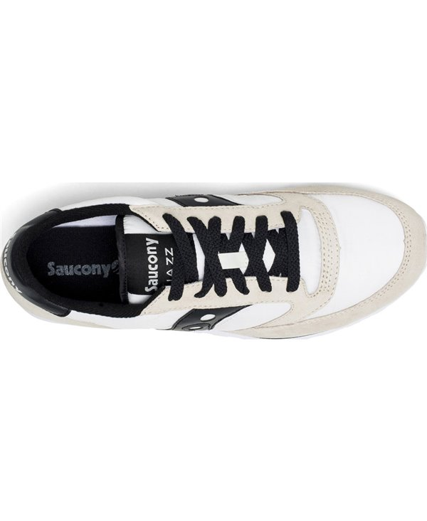 Men's Jazz Low Pro Sneakers Shoes White/Black