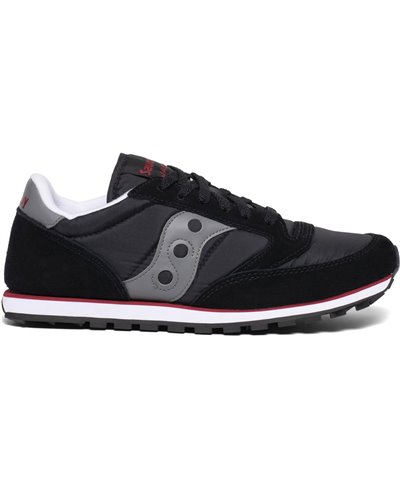 Herren Sneakers Jazz Low Pro Schuhe Black/Grey/Red