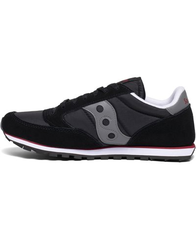 Men's Jazz Low Pro Sneakers Shoes Black/Grey/Red