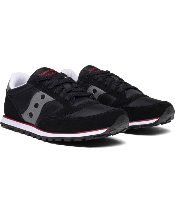 Jazz Low Pro Chaussures Sneakers Homme Black/Grey/Red