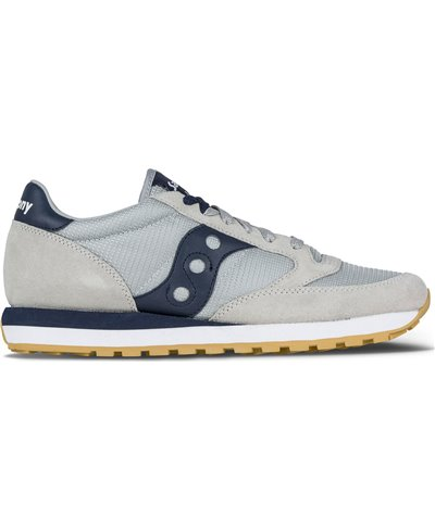Herren Sneakers Jazz Original Schuhe Grey/Navy