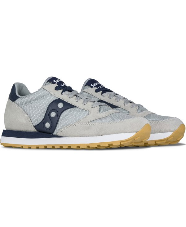 Men's Jazz Original Sneakers Shoes Grey/Navy