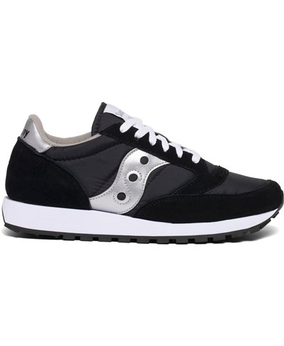 Men's Jazz Original Sneakers Shoes Silver/Black