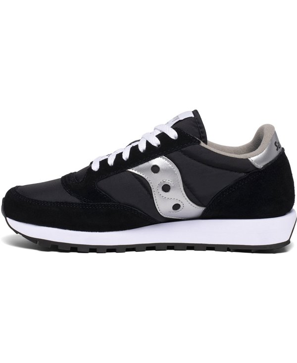 Jazz Original Chaussures Sneakers Homme Silver/Black