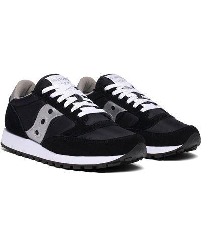 Herren Sneakers Jazz Original Schuhe Silver/Black
