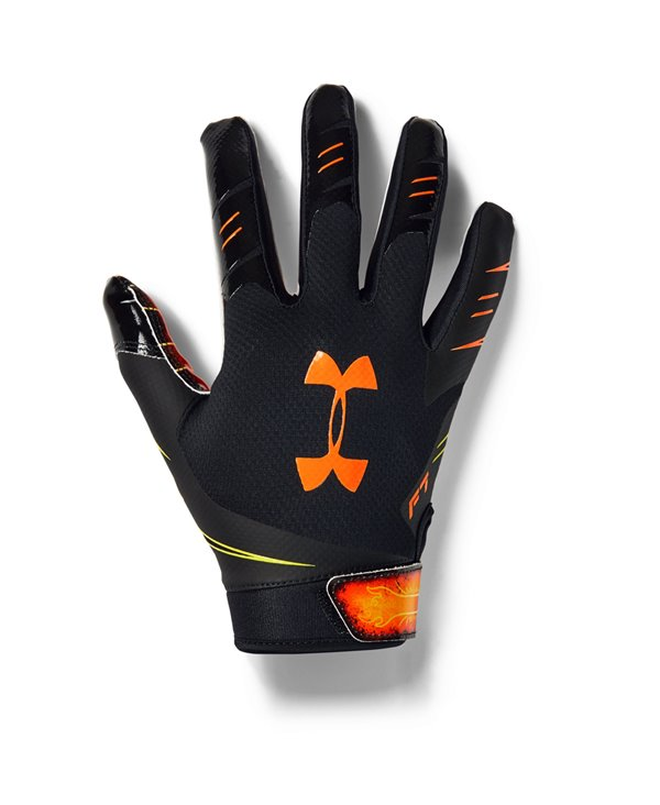 UA F7 Novelty Guanti Football Americano Uomo Black
